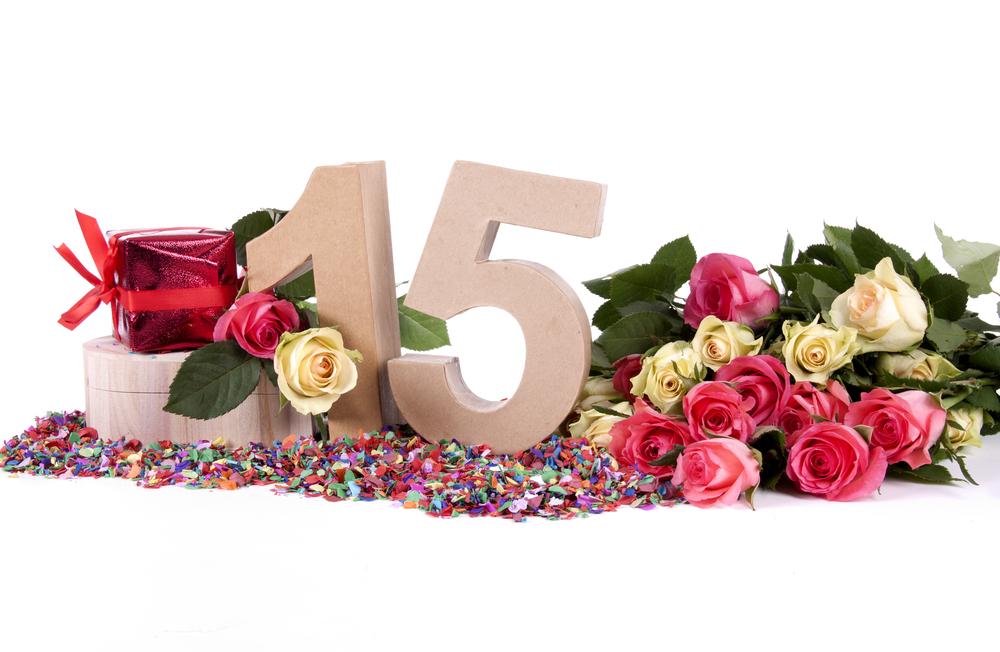 Significado de las rosas de 15 años
