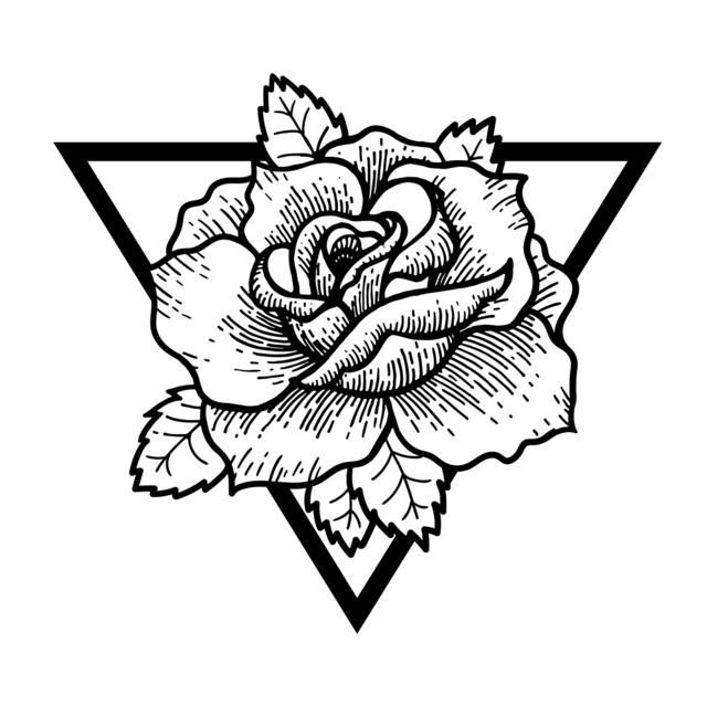 significado de las rosas negras en tatuajes